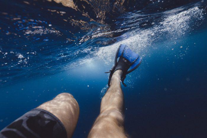 Svømmefødder til sjov og læring